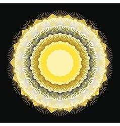 Colorful abstract circle image vector