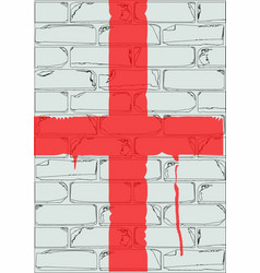 Saint george cross vector