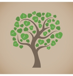 Simple tree vector image vector image
