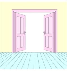 Open Doors vector image