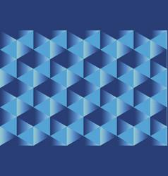 Deep blue paper seamless pattern vector