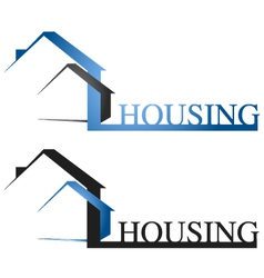 Housing design vector