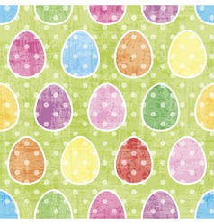 Seamless easter pattern vector