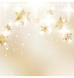 Elegant christmas snowflakes and copyspace vector