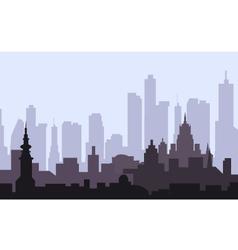 Morning city vector