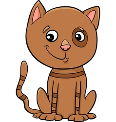 Cat kitten cartoon vector