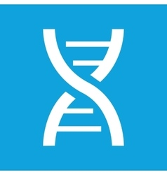 Dna icon simple vector