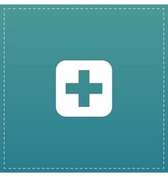 Medicine flat icon vector