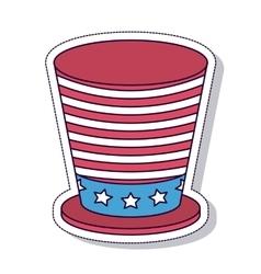 Patriotic isolated icon design vector