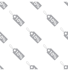 New Price tag seamless pattern vector image