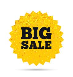 Big sale sign icon special offer symbol vector