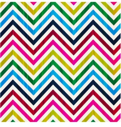 seamless repeated chevron background vector image vector image