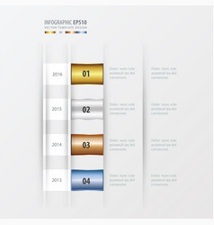 Timeline design design gold bronze silver blue vector
