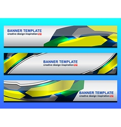 Web header banner vector