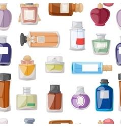 Perfume glamour seamless pattern vector