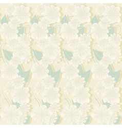 delicate floral vector image