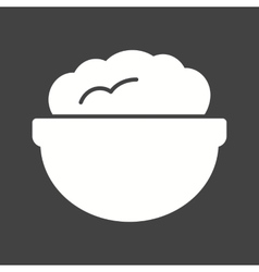Flour pot vector