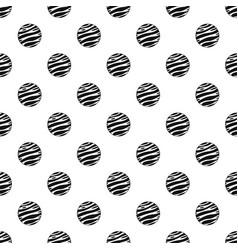 Big planet pattern vector