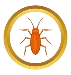 Cockroach icon vector