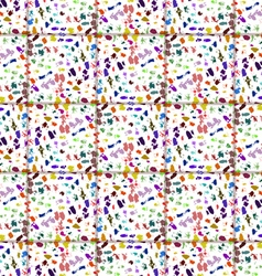 Color abstract mosaic vector image vector image