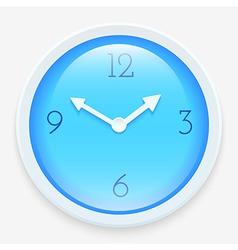 Modern clock vector image