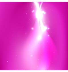 Shine in the space With place for text vector image vector image