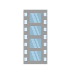 Film strip negative equipment video vector