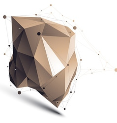 3d abstract tech perspective geometric asym vector
