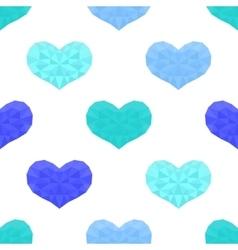 Saint valentines day seamless pattern background vector
