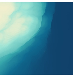 Water wave surface nature background vector