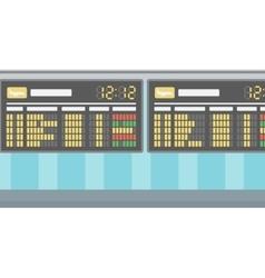 Background of schedule board vector image