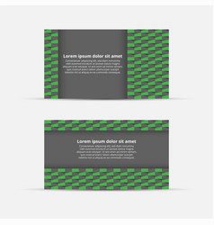 business card with abstract background vector image