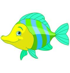 Cute Fish vector image