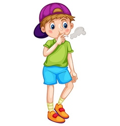 Smoking vector image vector image