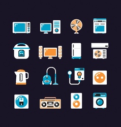 443electrical machine flat iconVS vector image