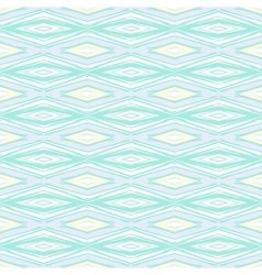 Modern geometric pattern in pale baby colors vector