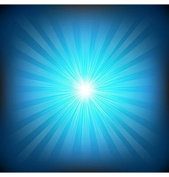 Blue burst vector