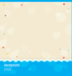 Modern abstract background in summer beach and vector