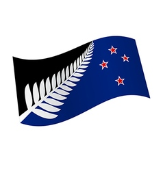 New zealand flag variation vector