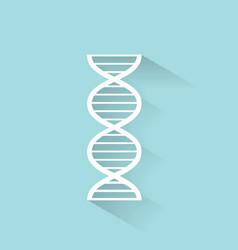 Dna icon vector