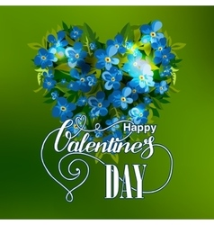 Vilentines day greeting card vector