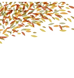 Autumn fallen leaves Autumn fall For autumn and t vector image vector image