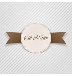 Eid al-fitr paper design element vector