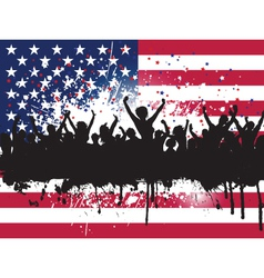 independence day party 3005 vector image vector image