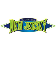 New Jersey The Garden State vector image