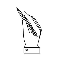 Pen write isolated icon vector