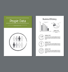 People data and efficiency vector