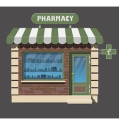 Pharmacy drugstore icon vector