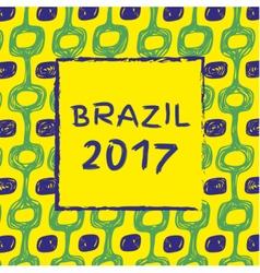 Brazil 2017 vector