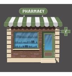 pharmacy drugstore icon vector image vector image